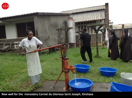 CONGO – A spring of water welling up in glorious Kinshasa – Murcadha O' Flaherty
