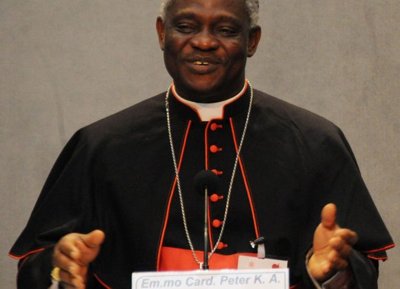 """SOUTH SUDAN – """"Without peace everything is difficult"""" says Cardinal Turkson"""