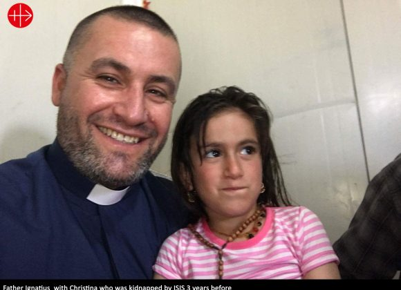 IRAQ – Girl taken by IS reunited with her family  –  Maria Lozano- ACN International