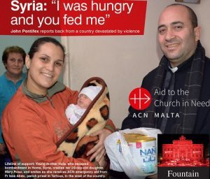 Syria – I was hungry and you fed me