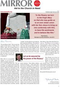 Mirror News – Issue September / October 2015