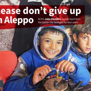 Aleppo: Please don't give up on Aleppo