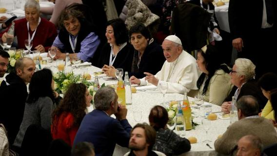 VATICAN CITY:  The Pope plans a surprise lunch for the poor – ACN Malta