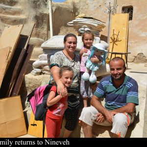 IRAQ:ACN pledges another US $5 million aid for  displaced Christians to return home  Karla Sponar – ACN International