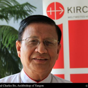 """MYANMAR: """" Myanmar can only cry for its people in exodus"""" – Cardinal Bo ACN Malta"""