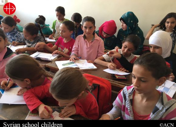 MALTA: 1000s of Maltese children are helping Syrian children attend school – ACN Malta