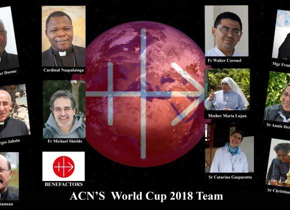 WORLD CUP 2018: ACN's winninig team – Maria Lozano – ACN International