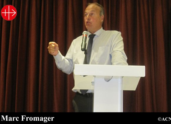 """MALTA: Marc Fromager talk – """"Can Christianity survive in the Middle East?"""""""