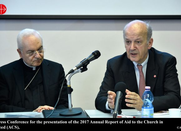 """ROME: """"From houses to churches"""" – Report of ACN's main activities in 2017 – ACN Malta"""