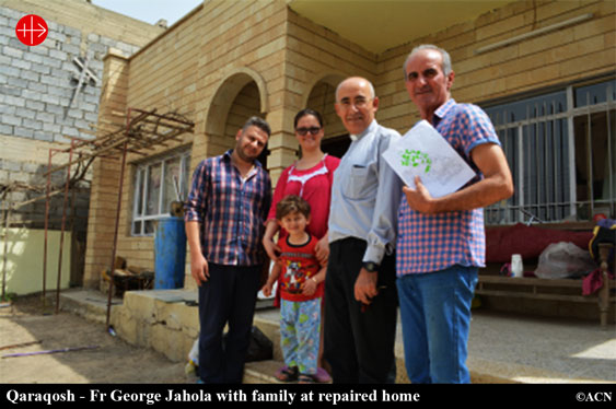 IRAQ: 'We would be lost without our fellow Christians in the West'  – Murcadha O Flaherty – ACN UK