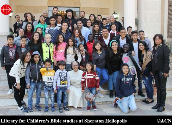 EGYPT: New Church library  helps young people learn more about their faith – ACN Malta