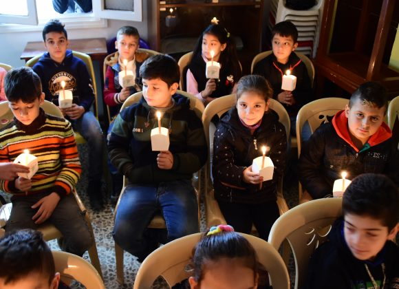 LIGHT A CANDLE FOR SYRIA
