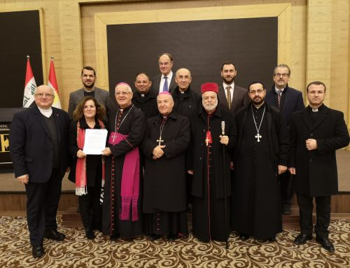 """""""DO NOT BE A SILENT BYSTANDER TO OUR DRAMA""""- IRAQI CHRISTIANS"""