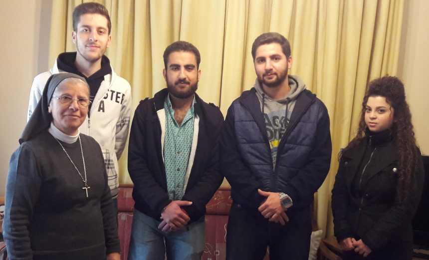 """""""You never failed us with your support""""- Syrian students"""