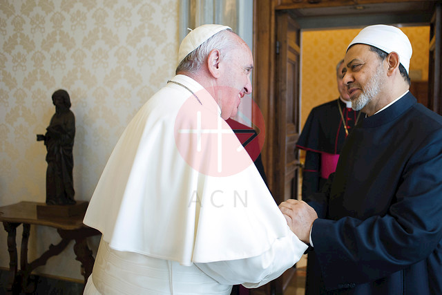POPE FRANCIS' KEEN ATTENTION TO INTER-FAITH RELATIONS