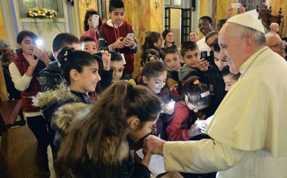 SEED FOR A POSSIBLE PAPAL VISIT TO IRAQ