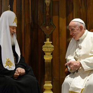 THE THIRD ANNIVERSARY OF THE HISTORIC MEETING BETWEEN POPE FRANCIS AND PATRIARCH KIRILL