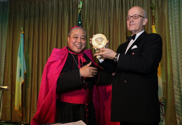 AID TO THE CHURCH IN NEED RECEIVES THE 2019 PATH TO PEACE AWARD
