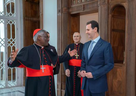 Pope Francis writes Assad, expresses profound concern for the humanitarian crisis in Syria