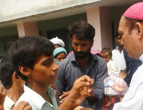 Distributing emergency aid
