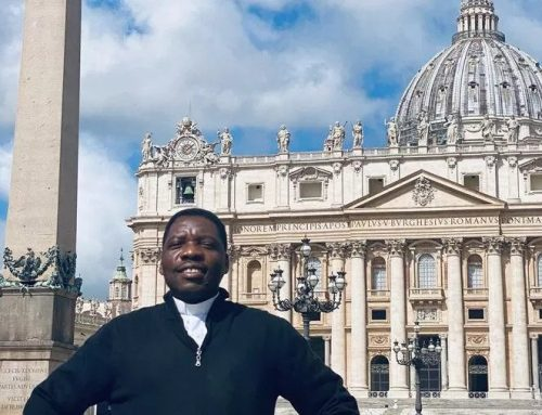 From child soldier to Catholic priest: Father Mbikoyo lives to give hope to the hopeless